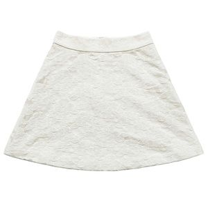 New ANN TAYLOR Winter White A Line Skirt Small 4